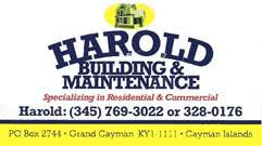 Harold's Building And Maintenance